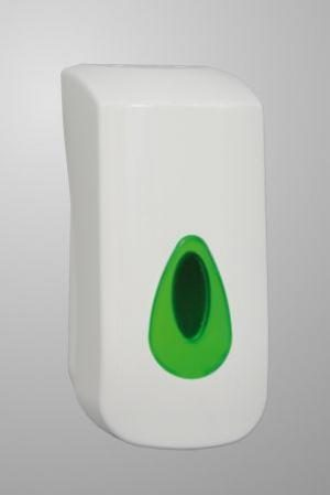 Modular Bulk Fill Soap Dispenser White Plastic 400ml