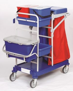 Rokleen Trolley Maxi Complete Microfibre System