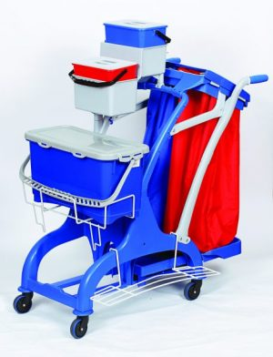 Rokleen Trolley Midi Complete Microfibre System