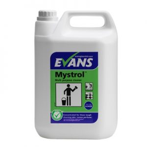 Evans Vanodine Mystrol Concentrated Tough MPC Lemon 5 ltr