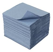 Interfold Nursery Hand Towel 1 ply Blue 7200