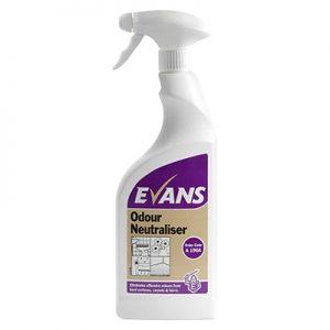 Evans Vanodine Odour Neutraliser 6 x 750 ml