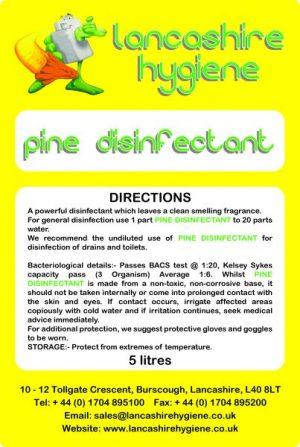 Pine Disinfectant 5 litre