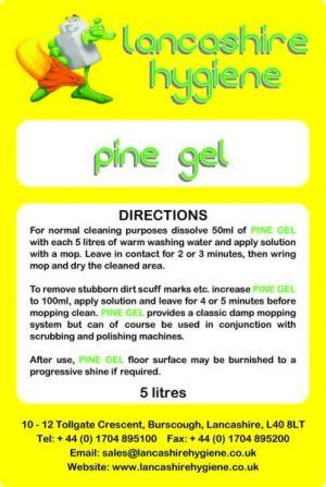 Pine Gel Damp Mopping & Spray Buffing 5 ltr