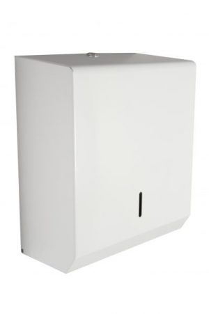 Synergise C/M Fold Hand Towel Dispenser White Metal