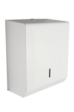 Synergise C/M Fold Hand Towel Dispenser White Metal