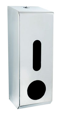 Synergise 3 Roll Toilet Tissue Dispenser Polished Stainless Steel
