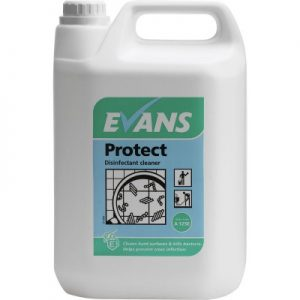 Evans Vanodine Protect EN1276 Alkali Based Disinfectant Cleaner