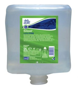Deb Estesol Lotion Pure Light Duty Hand Cleaner 4 x 2 ltr Cartridge