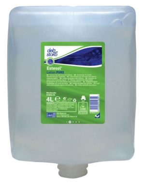 Deb Estesol Lotion Pure Light Duty Hand Cleaner 4 x 4 ltr Cartridge