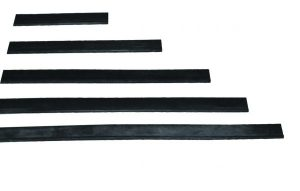 Pulex Replacement Rubber Squeegee Blades Soft & Hard Grade 10 per pack