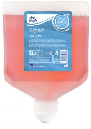 Deb Refresh Rose FOAM 4 x 2 ltr Cartridge