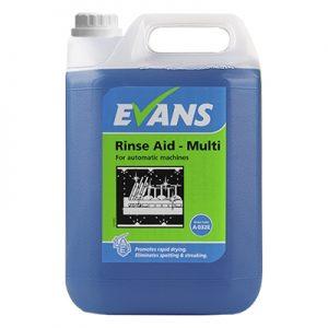 Evans Vanodine Auto Rinse Aid Multi 5 ltr