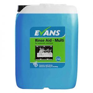 Evans Vanodine Auto Rinse Aid Multi 20 ltr