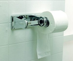 Economical and Lockable Twin Toilet Roll Holder