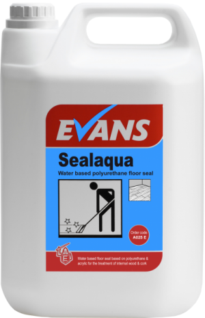 Evans Vanodine Seal Aqua Water Based Polyurethane Floor Seal 5 ltr