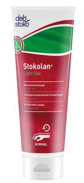 Deb Stokolan 12 x 100ml Light Skin Moisturising Gel Tubes