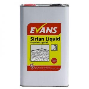 Evans Vanodine Sirtan Liquid Wax Polish 5 ltr