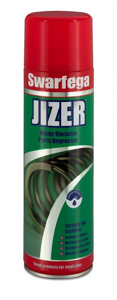 Swarfega Jizer 12 x 500ml Aerosol Parts Degreaser