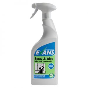 Evans Vanodine Spray & Wipe RTU 750ml