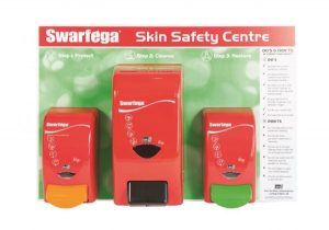 Swarfega 3-Step Workshop Skin Care Board