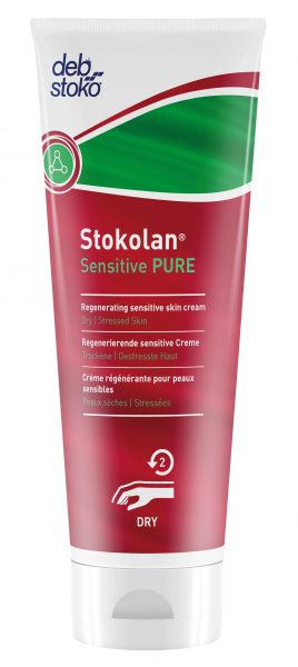 Deb Stokolan 12 x 100 ml Sensitive Pure Skin Cream Tubes