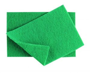 GREEN Scouring Pads 9 x 6