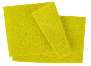 YELLOW Scouring Pads 9 x 6