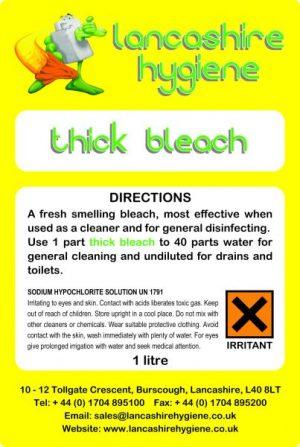 Thick Bleach 12 x 750 ml