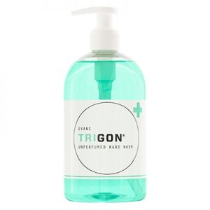 Evans Vanodine Trigon High Active Unperfumed Hand Wash 6 x 500 ml