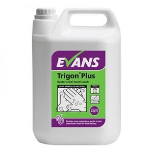Evans Vanodine Trigon High Active Unperfumed Hand Wash 5 ltr