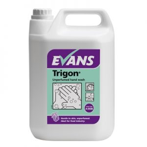 Evans Vanodine Trigon High Active Unperfumed Hand Wash 5 ltr