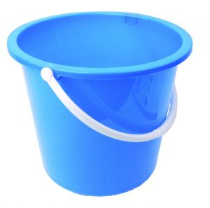 Plastic Colour Coded Household Bucket 10 ltr Blue | Red | Green | Yellow