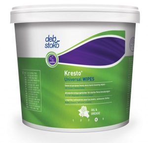 Deb Kresto Universal WIPES Heavy Duty Hand Cleansing Wipes 4 x 150 wipes