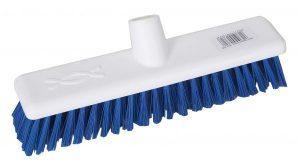 Hygiene Broom Head Stiff 12″ – Blue   Red   Green   Yellow