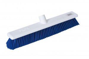 Hygiene Broom Head Stiff 18″ – Blue | Red | Green | Yellow