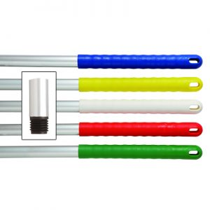 Hygiene Handle Alloy Colour Coded 125cm and 137cm