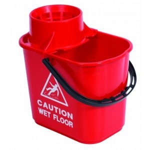15 Ltr Professional  Bucket with Wringer Red | Blue | Green | Yellow