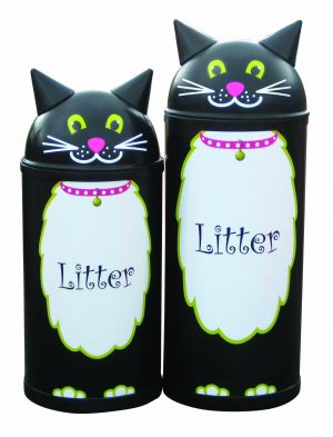 Cat – Primary Education Playground-Classroom Animal Litter Bins