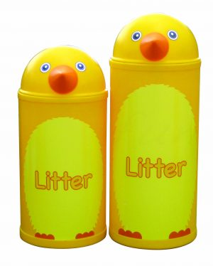 Chick – Primary Education Playground-Classroom Animal Litter Bins