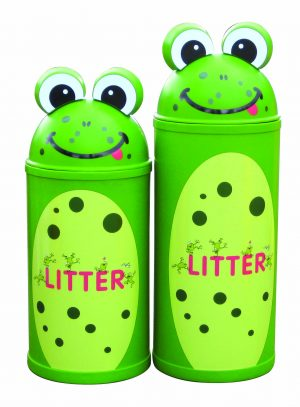 Frog – Primary Education Playground-Classroom Animal Litter Bins