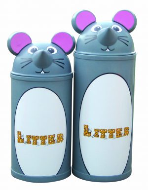 Mouse – Primary Education Playground-Classroom Animal Litter Bins