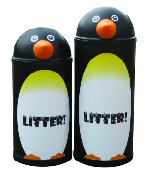 Penguin – Primary Education Playground-Classroom Animal Litter Bins