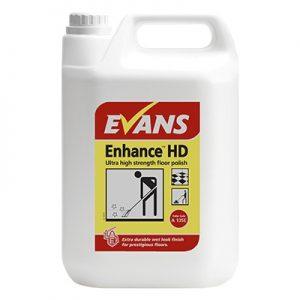 Evans Vanodine Enhance™HD Ultra high strength floor polish 5 litre