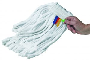 Microfibre Stayflat Kentucky Mop Head 340g