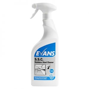 Evans Stainless Steel Cleaner 750 ml Trigger