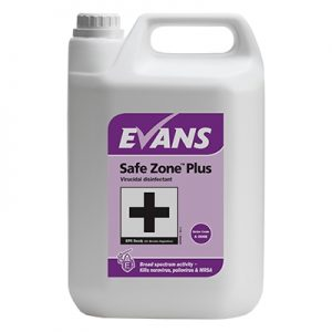 Evans Safe Zone™ Plus Virucidal disinfectant 5 litre
