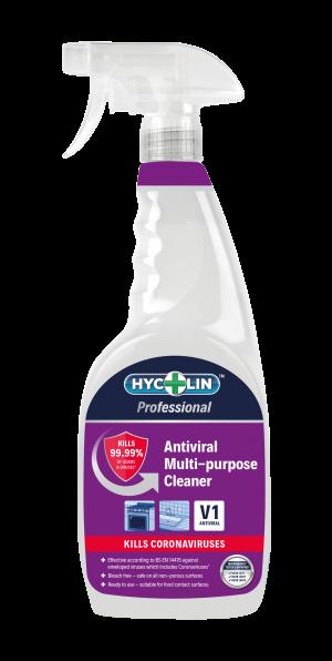 Hycolin Professional Antiviral Disinfectant V1 6 x 750 ml Spray bottles