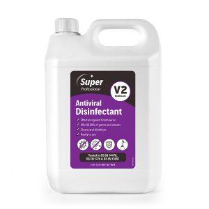 Super Antiviral Disinfectant V2  2 x 5 litres