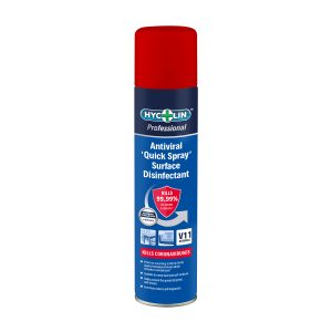 Hycolin Professional Antiviral Quick Spray Surface Disinfectant 12 x 300ml